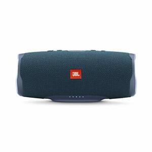 JBL Charge 4 Portable Waterproof Wireless Bluetooth Speaker - Blue - Clearance!