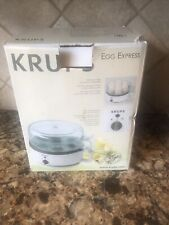 Krups F230 Egg Express Cooker Poacher w Cups w Manuals & Original Box Complete