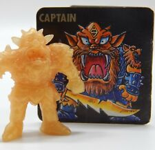vintage Japanese NECLOS FORTRESS keshi figure CAPTAIN rubber monster toy part 5