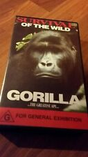 Survival Of The Wild Gorilla The Greatest Ape. Vhs Video Tape