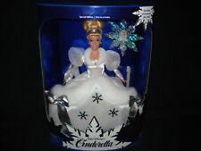 Holiday Princess Walt Disney Cinderella 1996 Barbie Doll Nib 1st in a Series
