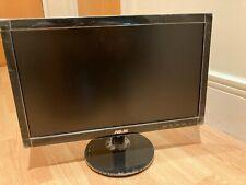 ASUS VS197DE 18.5 Inch Widescreen LED Monitor - 1366 x 768, 5 ms, VGA - Used