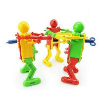 2PCS/lot Clockwork Spring Wind Up Toy Dancing Robot Toy for Children Kids Toy HK