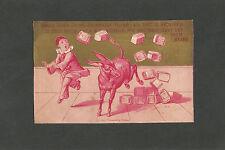 "Victorian Trade Card - ""King's Quick Rising Buckwheat Flour"" Late 1800's"