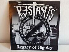 THE RESTARTS Legacy of Bigotry PUNK HARDCORE