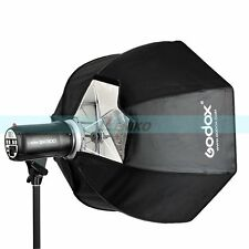 Godox 120cm Softbox Bowens Mount for Studio Strobe Head Monolight Camera Flash