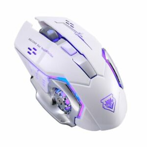 Upgrade X8 Wireless Charging Game Mouse Mute Light Mechanical 2,4 GHZ Wireless