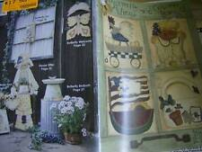 Butterfly Wings & Country Things Painting Book -Animals, Garden, Flowers