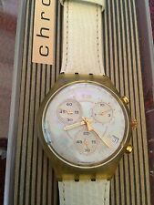 Swatch Women's Round Wristwatches with 12-Hour Dial
