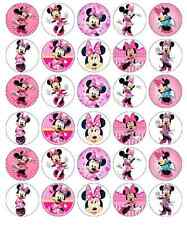 Minnie Mouse Disney Cupcake Toppers Edible Wafer Paper Buy 2 Get 3rd FREE!