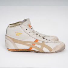 Onitsuka Tiger MEXICO Mid Runner TOKYO Shoes THL328 Cream/Orange US 10 EU 4 Rare