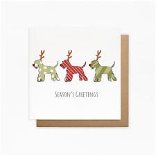 Schnauzer Christmas Card - Dog Christmas Cards - Schnauzer Card - Mini Schnauzer