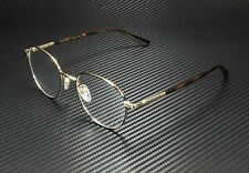 GUCCI GG0392O 002 Round Oval Black Gold Havana Demo Lens 51 mm Men's Eyeglasses
