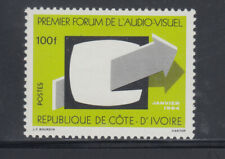 Ivory Coast 1984 audiovisual Sc 707   mint lightly hinged