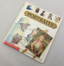 PORTRAIT PAINTINGS Educational Scholastic A First Discovery Book Reader Phonic