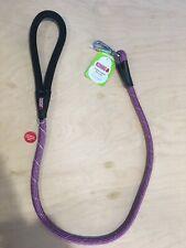 Kong 4' Dog Leash Reflective Padded Handle Pink Purple New