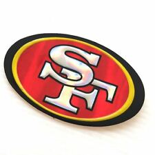 2 of San Francisco 49ers Emboss Decal Sticker NFL Reflective Printed Die Cut
