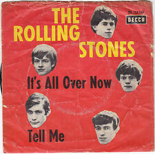 """Single7"""" The Rolling Stones""""It´s all over now/Tell me""""Original-DECCA KöpfeCover"""