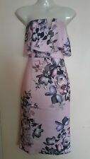 Stylewise - New Bandeau Dress - Pink/Multi - Size 10
