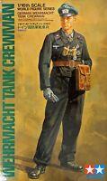 Tamiya 36301 WWII Wehrmacht Tank Crewman 1/16 Scale Figure
