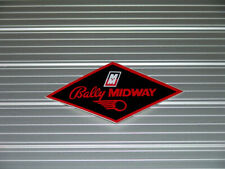 Bally / Midway Classic Coin Door Decal GREAT FOR ANY RESTORATION
