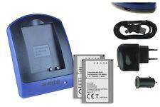 2 Batteries + Chargeur USB BLN-1 pour Olympus OM-D E-M1, E-M5 / PEN E-P5