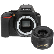 Nikon D5600 24.2MP DSLR Camera with AF-S DX NIKKOR 35mm f/1.8G Lens