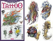 MAURICIO Tattoo Flash Design Book 48-Pages Art Supply