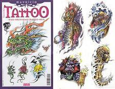 MAURICIO Tattoo Flash Design Book 48-Pages Art Supply