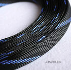14mm Wide TIGHT Braided PET Expandable Sleeve Cable Wire Sheath Mesh Loom 2-10M