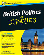 British Politics For Dummies by Julian Knight (Paperback, 2010)