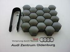 Audi und VW Radschraubenkappen (20 Stk.) inkl. Abzieher, Kappen für Radschrauben