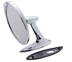 NEW 1961-1962 Chevrolet Corvair Exterior Side Rear View Mirror- LH=RH