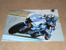 Ben Spies Signed 2012 Yamaha Large Photo 18x12 1.