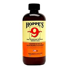 Hoppes #9 Gun Bore Cleaner / Solvent - Made In Usa