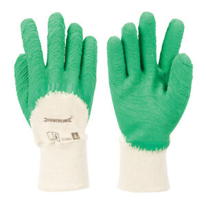 Gloves Gardening Coating Pleat ¾ Size L