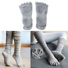 Women's Cotton Toe Socks Toeless Grip for Yoga Home Gym Fitness Exercise Workout