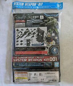 BANDAI SPIRITS THE GUNDAM BASE LIMITED 1/144 SYSTEM WEAPON KIT MODEL KIT 001