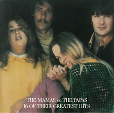 The Mamas & The Papas - 16 Of Their Greatest Hits CD 1986 Japan-Import Rock Pop