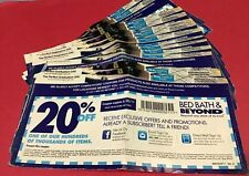 Lot 14 Bed Bath And Beyond Coupons 20% Off One Item All Expired Home Kitchen