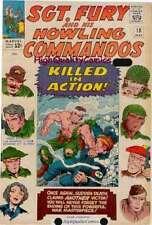 SGT FURY #17 18 19, WWII, Pam Hawley Death, Revenge, War, 1965, KIA