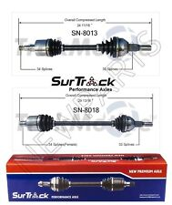 Saturn Vue AWD 2002-2006 2.2L L4 Pair of Front CV Axle Shafts SurTrack Set