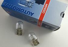 2 STÜCK OSRAM LAMPEN 12V 21W W3x16d GLASSOCKELLAMPE LAMPE 7505 W21W ECE R37