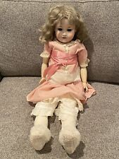 Armand Marseille Baby Doll 24 Inch. 390 - Antique Bisque Head W/outfit Nice A7M