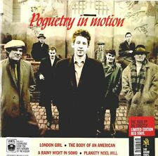 "THE POGUES ""POGUETRY IN MOTION""  ep 12"" reissue lim. edit. red vinyl sealed"