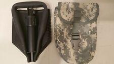 Ames USGI Compact E-Tool Shovel W/ Molle ACU Camo Carrier