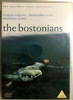 The Bostonians DVD 1984 Merchant Ivory Drama Film Movie w/ Vanessa Redgrave