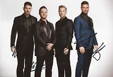 MUSIC: BOYZONE SIGNED 12x8 (A4) SEXY PORTRAIT PHOTO+COA **PROOF**
