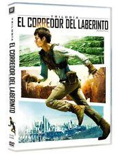 EL CORREDOR DEL LABERINTO TRILOGIA DVD LAS PRUEBAS CURA MORTAL NUEVO (SIN ABRIR)
