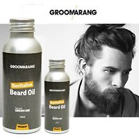 Groomarang Beard Oil  Moisturising & Conditioning 100% Natural & Organic Product